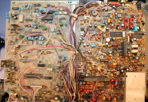 Електроніка ВМ-12 - монтажна схема