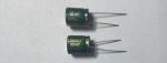 Электролитический конденсатор 10мкФ 400В 105ºС 10x13мм Low ESR Chongx