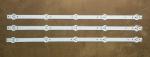 Планки светодиодной подсветки SVJ280A01 Bravis LED-28C2000B (5 led 3V 530mm)