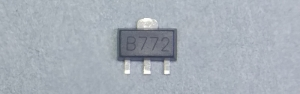 2SB772 (B772) PNP 30V 3A 0.5W SOT-89 SMD