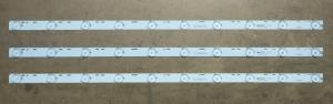 Планки светодиодной подсветки DEX (10 led 3V 570mm)