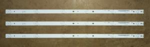 """Планки светодиодной подсветки 32"""" (6 led 3V 575mm)"""