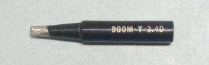 Жало паяльника 900M-T-2.4D (клин, двойной срез)