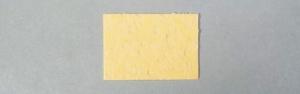 Губка для очистки жала паяльника (желтая) 50х35 мм