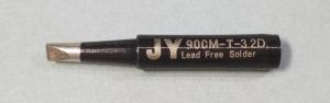 Жало паяльника JY 900M-T-3.2D (клин, двойной срез)