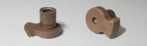 Куплер, насадка, муфта, втулка вращения тарелки для микроволновки Saturn, Gorenje (H=20mm)