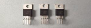 LA78041 - микросхема кадровой развертки