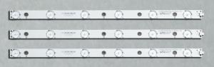 """Планки светодиодной подсветки TCL 28"""" (6 led 6V 402mm)"""