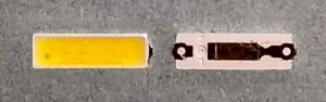 Светодиоды подсветки матрицы Lextar led 7020 6V 80mA 1W smd