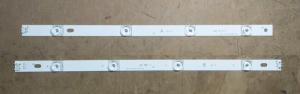 Планки светодиодной подсветки LG (A+B 8 led 6V 825mm DRT 3.0)