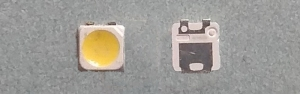 Светодиоды подсветки матрицы Samsung led 2828 3V 570mА 1,5W smd