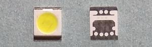 Светодиоды подсветки матрицы Seoul led 3528 (2835) 3V 400mA 1W smd (cold white)